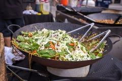 азиатская улица еды Стоковые Фотографии RF