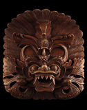 азиатская черная изолированная маска Стоковое Фото
