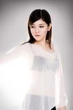 азиатская чувственная женщина Стоковые Фотографии RF