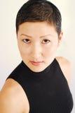 азиатская девушка довольно Стоковое Фото