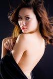 азиатская glamourous женщина Стоковая Фотография RF