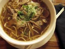 Азиатские лапши супа Стоковые Изображения RF