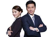 Азиатские бизнесмены Стоковая Фотография