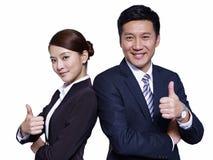 Азиатские бизнесмены Стоковые Изображения