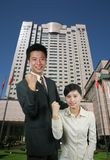 азиатские бизнесмены Стоковое Изображение