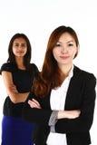 Азиатские бизнес-леди стоковые изображения rf