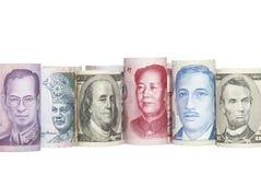азиатские валюты стоковая фотография