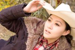 азиатские девушки Стоковые Изображения RF