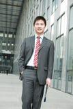 азиатские детеныши бизнесмена Стоковая Фотография