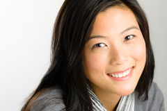 азиатские детеныши женщины стоковые изображения rf