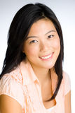 азиатские детеныши женщины стоковое изображение rf