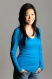 азиатские детеныши женщины стоковые изображения