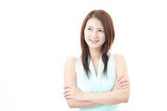 азиатские детеныши женщины портрета стоковые изображения rf
