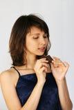 азиатские детеныши женщины Стоковое Изображение