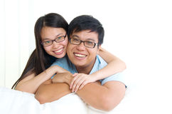 азиатские детеныши пар Стоковые Фото