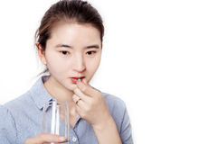 Азиатские женщины в здравоохранении Стоковые Фотографии RF