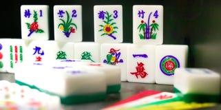 азиатские играя в азартные игры игры Стоковые Фото