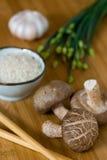 азиатские ингридиенты еды Стоковая Фотография RF
