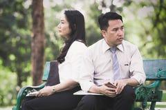 Азиатские пары дела Стоковые Фото