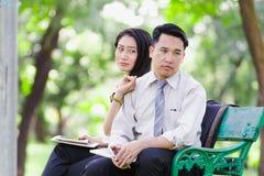 Азиатские пары дела Стоковые Изображения RF