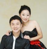 азиатские пары стоковые фото