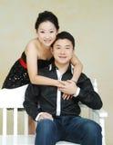 азиатские пары стоковая фотография