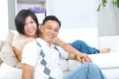 Азиатские пары Стоковая Фотография RF