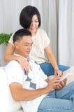 Азиатские пары Стоковое фото RF