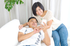 Азиатские пары Стоковое Изображение RF