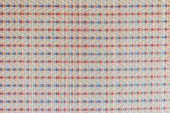 Азиатские пестротканые плетеные текстуры картины сделанные для предпосылки Стоковое Изображение RF