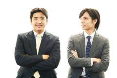 Азиатские работники офиса стоковые фотографии rf