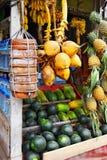 Азиатский рынок Стоковое Фото