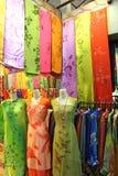 азиатские ткани традиционные стоковое фото