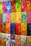азиатские ткани традиционные Стоковые Фотографии RF