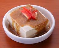 Азиатские характеристики тофу стоковое фото rf
