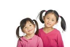 азиатские девушки Стоковые Фотографии RF