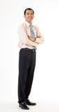 азиатский бизнесмен возмужалый Стоковое фото RF