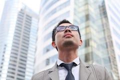 Азиатский бизнесмен Стоковая Фотография