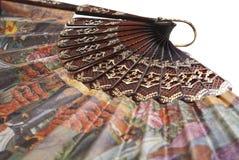 азиатский вентилятор изолировал традиционное Стоковое Фото