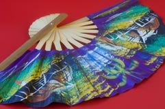 азиатский вентилятор Стоковое Фото