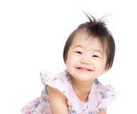 Азиатский возбужденный ребёнок стоковая фотография rf