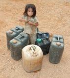 азиатский газолин ребенка банки Стоковые Фото