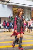 Азиатский гулять женщины Стоковое Фото