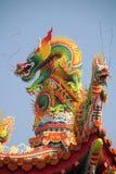 азиатский дракон Стоковое фото RF