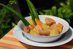 Азиатский десерт кокоса стоковая фотография rf