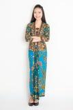 азиатский женский портрет Стоковое Изображение