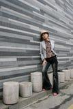 азиатский женский портрет Стоковые Фотографии RF
