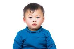 Азиатский изолированный ребёнок Стоковые Изображения RF
