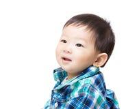 Азиатский изолированный ребёнок Стоковые Фотографии RF