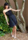 азиатский испанец платья вне предназначенного для подростков Стоковая Фотография